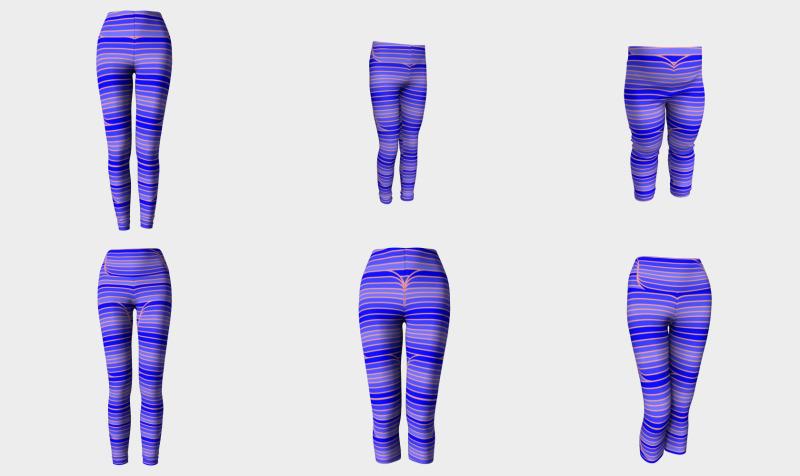 Geo Stripes - retro stripes, geometric stripes, gradient stripes, striped designs preview