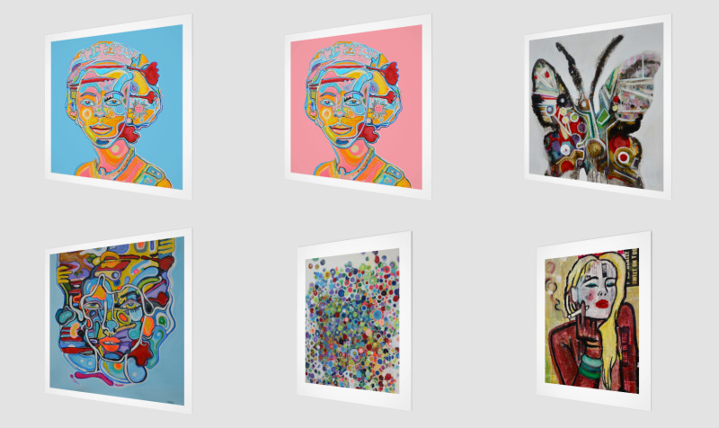 Art prints preview