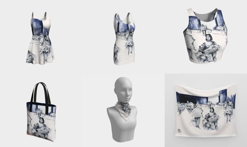 Midnight in Paris / Devin Fashion-Match Art preview