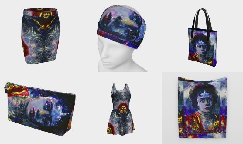 DonnaKasha Fashion Warrior / Devin Fashion-Match Art preview