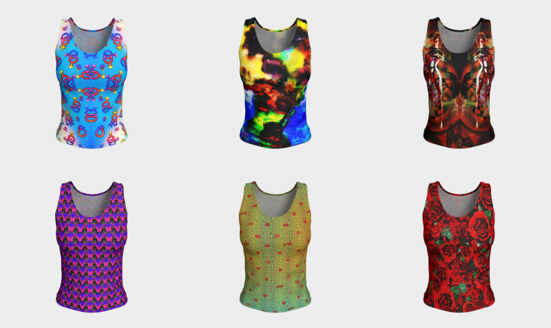 Fitted TankTops by Surrealpete preview