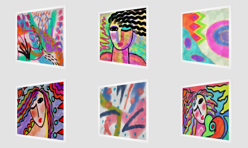 Abstract Art Prints on Canvas preview