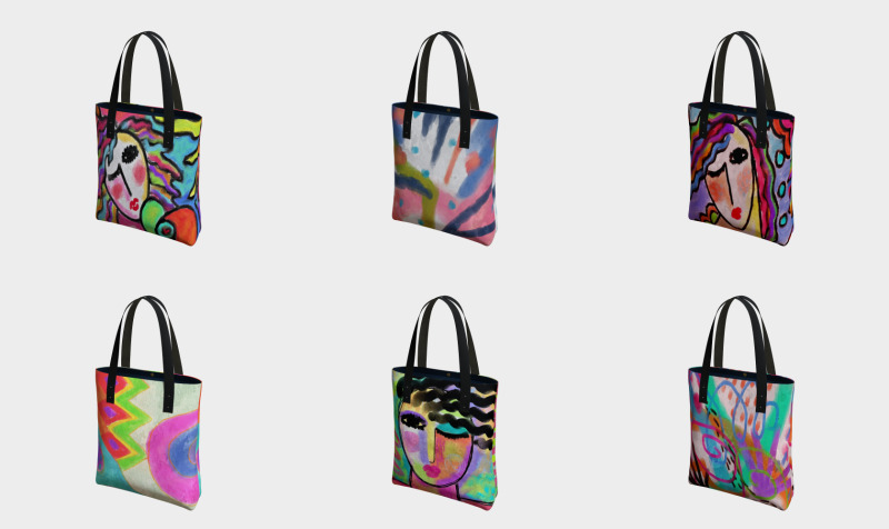 Abstract Art Shoulder Bags preview