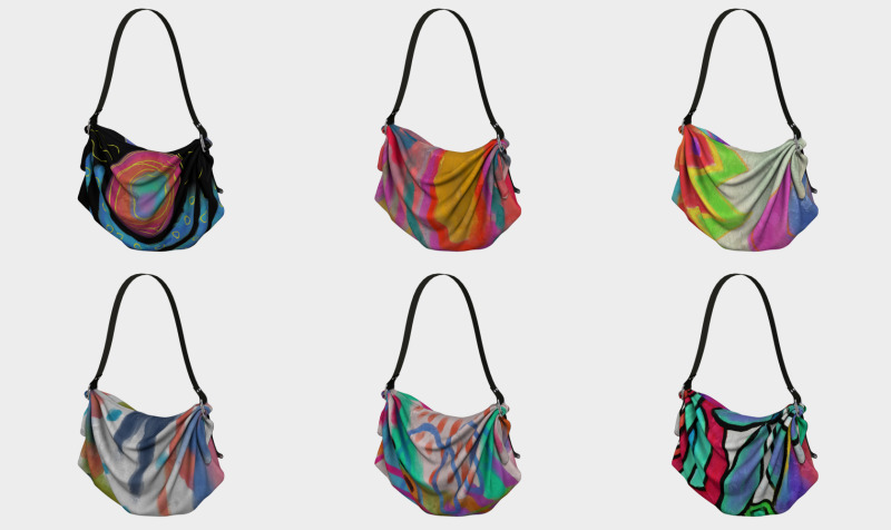 Abstract Art Tote Bags preview