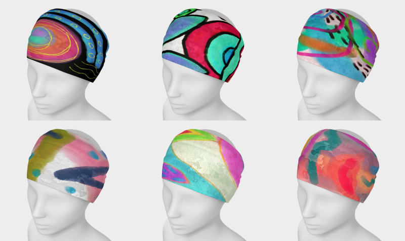 Abstract Art Headbands preview