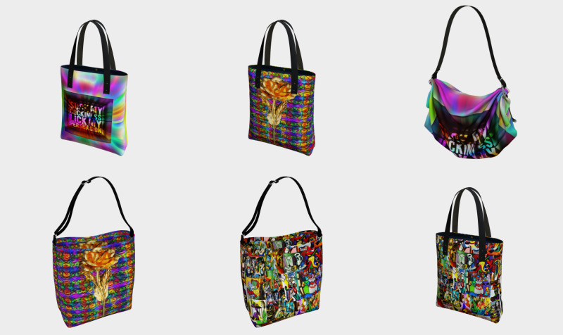 Bags, Pouches & Totes by Surrealpete preview