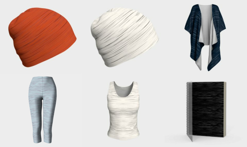 Stylish Basics - basic designs, simple designs, essential designs, abstract stripes, micro stripes, classic designs, monochromatic designs, mixing and matching preview