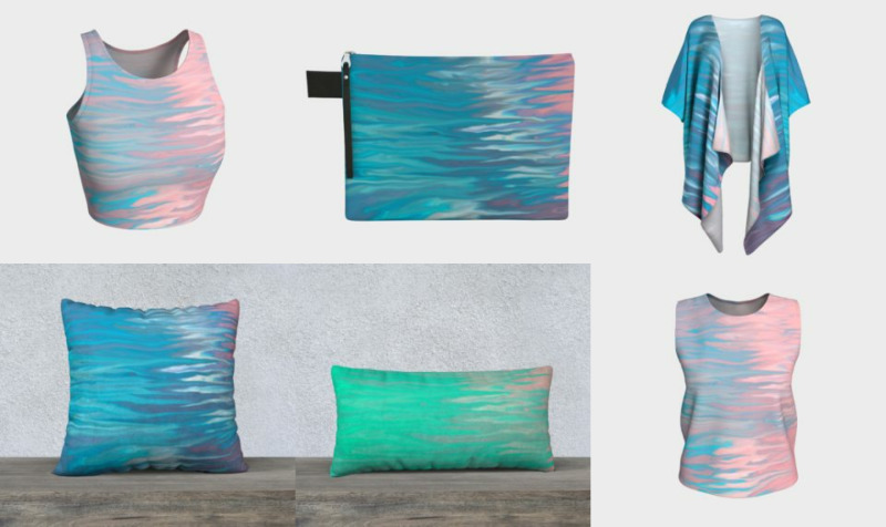 Soft Abstract Designs - Stunning fluid abstract designs wiith gorgeous contrast and color movement preview