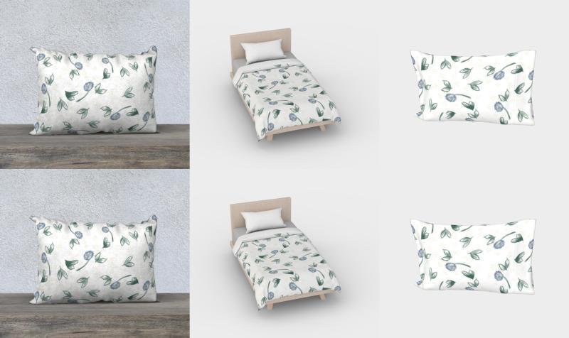 Aperçu de Spring Bloom Bed Set