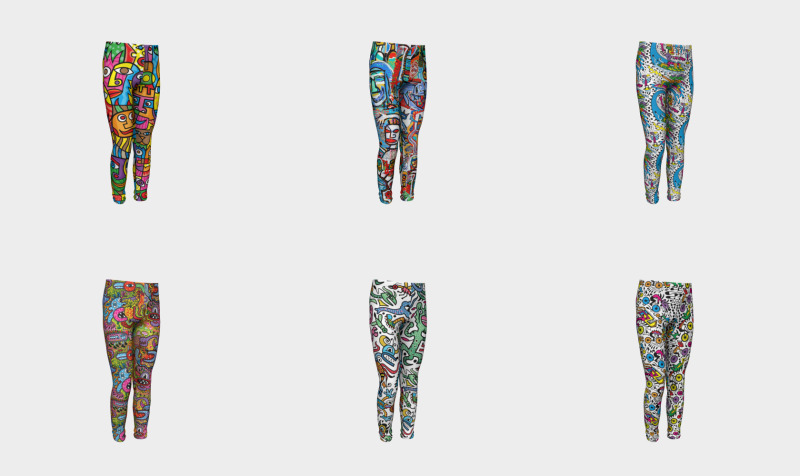 Dan Fenelon Youth Leggings preview