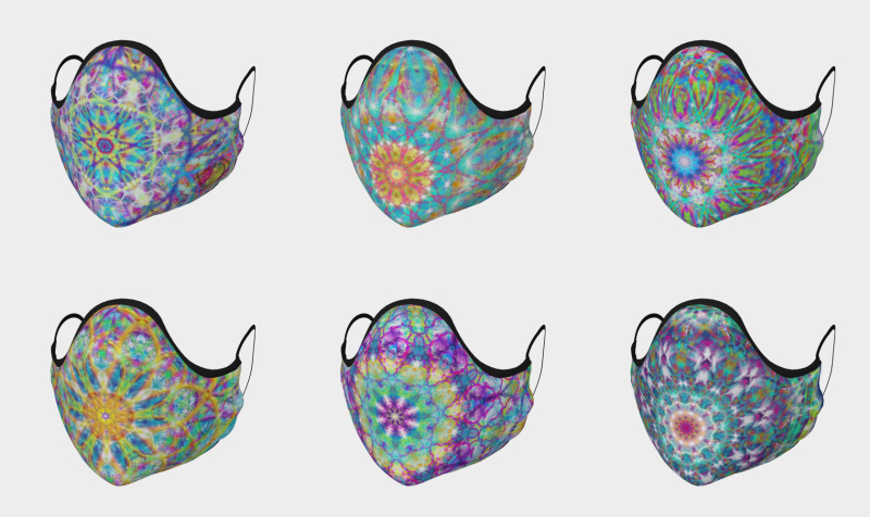 Aperçu de Face Masks - Mandalas and More