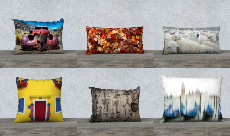 Aperçu de Oreillers  |  Pillows  -  Louise Tanguay