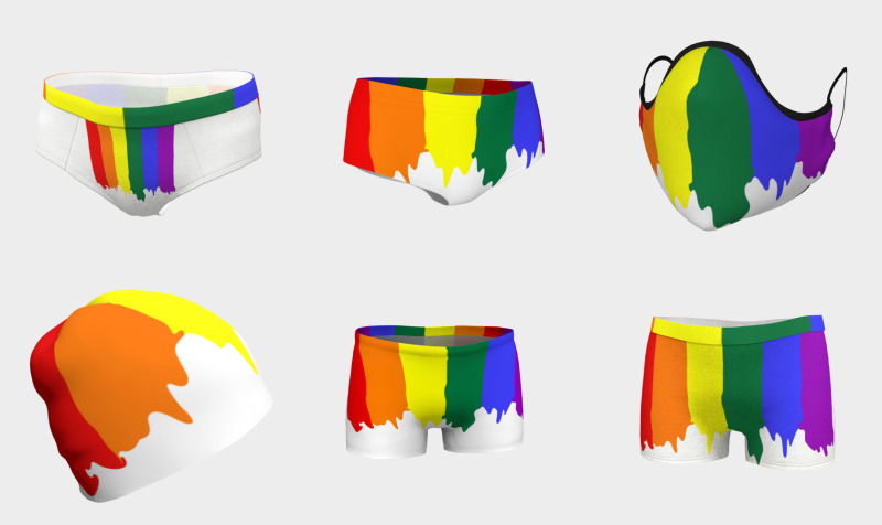 Ricaso Pride LGBT Paint preview