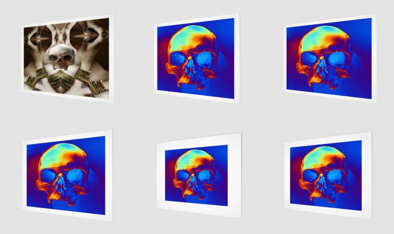 Aperçu de Skull Wall Art