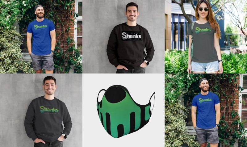 Shanks E&E merchandise preview