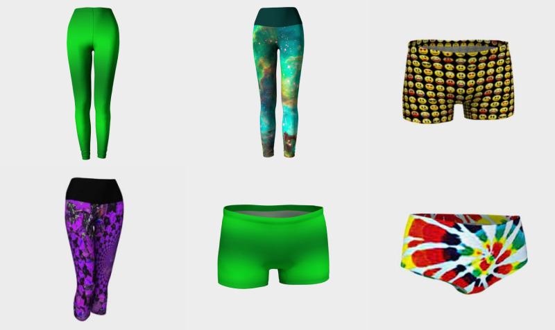 Aperçu de Women's Leggings & Capris, Shorts & Underwear