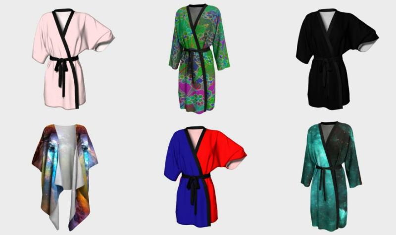 Aperçu de Robes, Kimonos & Peignoirs