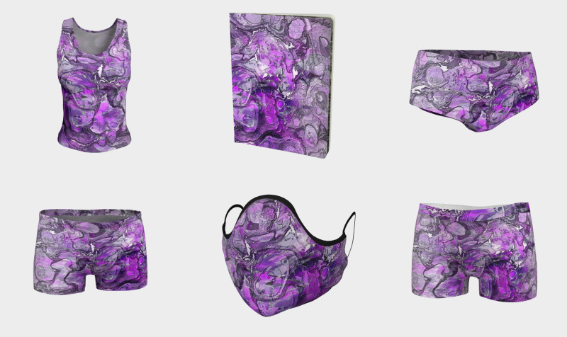 Purple Marble preview