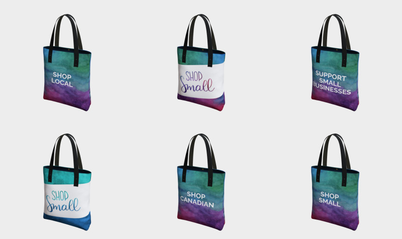 Tote Bags - Support Local preview