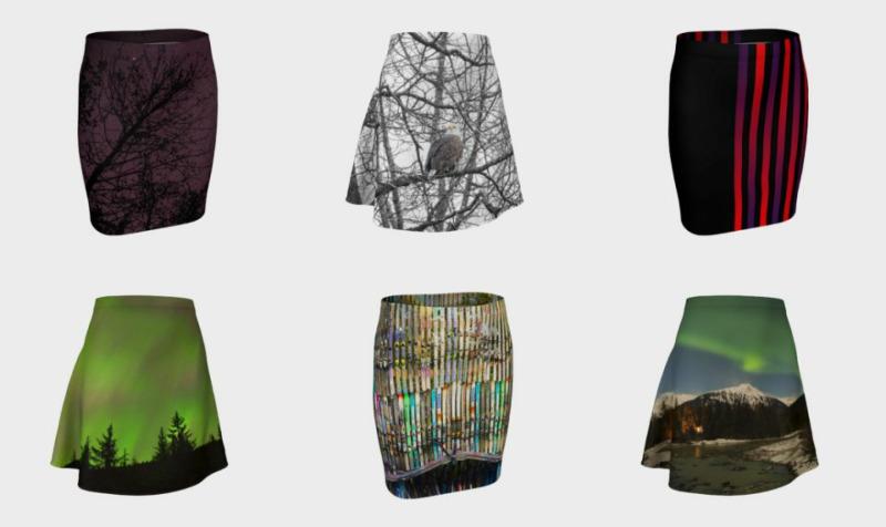 Aperçu de Fitted / Flare Skirt