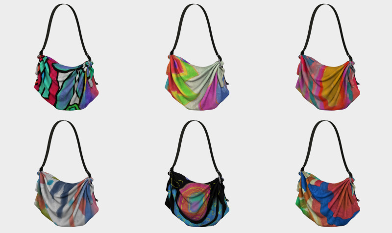 Aperçu de Abstract Art Tote Bags