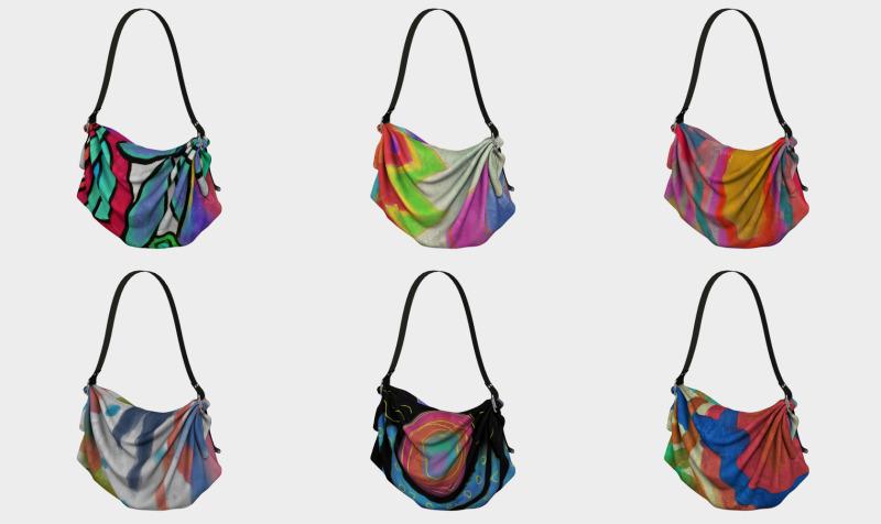 Aperçu de Abstract Art Tote Bags