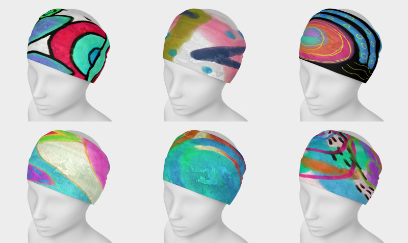 Aperçu de Abstract Art Headbands