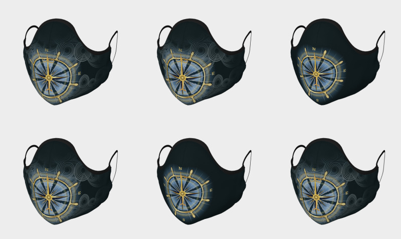 Compass Rose Face Masks preview
