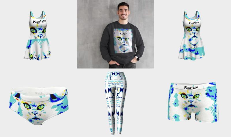 Picatsso's Official Crazy Catnip Dancewear preview