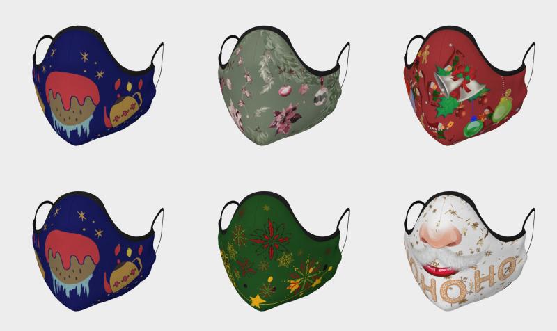 Aperçu de Christmas Masks