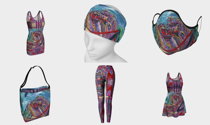 Aperçu de Roller Coaster Day / Devin Fashion-Match Art