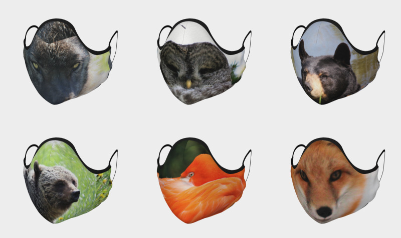 Wildlife - Animal & Bird Face Coverings  preview