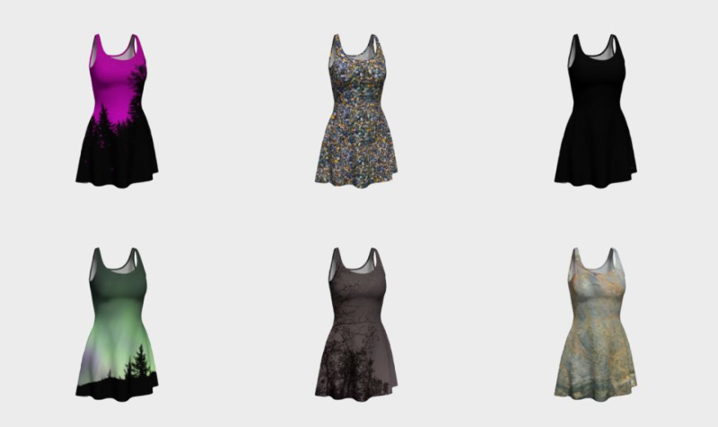 Flare and Fitted Dresses preview