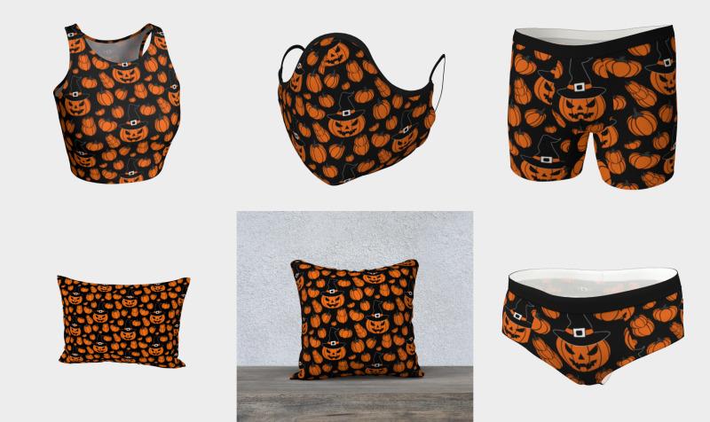 Orange Pumpkin Queen preview