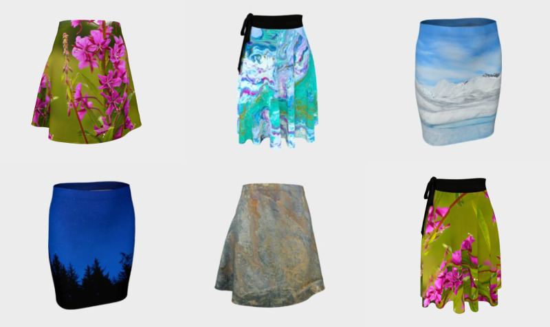 Fitted / Flare Skirt preview