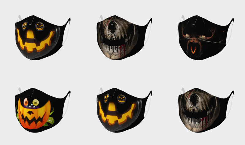 Double Knit Halloween Face Masks preview