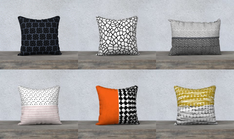 Aperçu de throw pillows by trebam