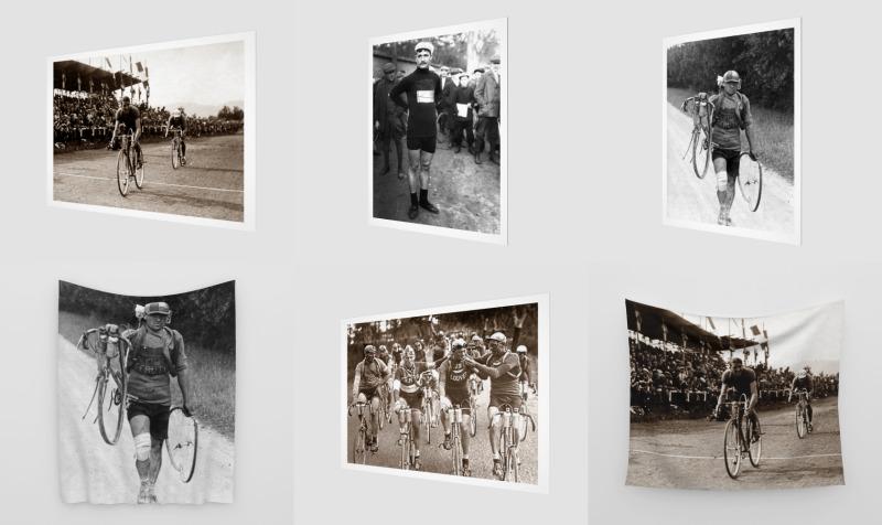 Aperçu de Vintage Tour de France & Cycling Racing Home Decor