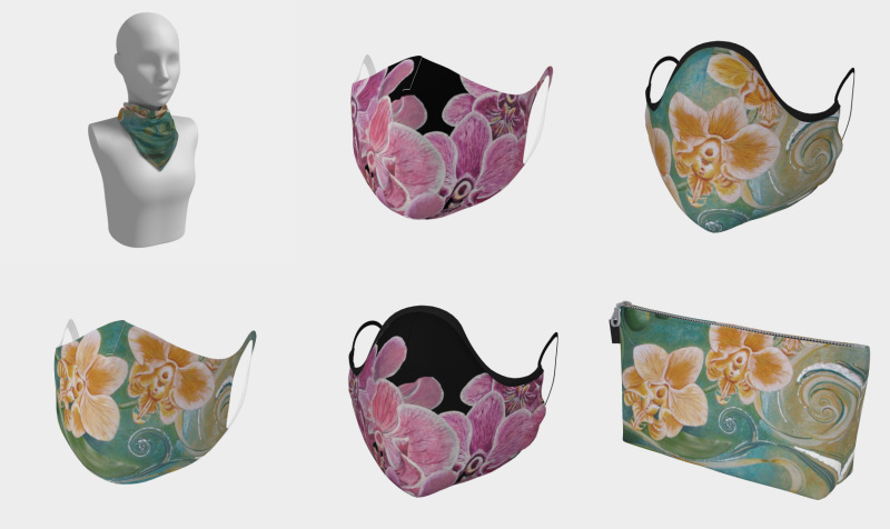 Orchid Designs (on a variety of items) preview
