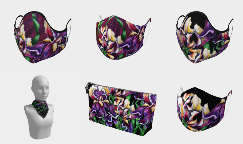 Iris Designs (on a variety of items) preview