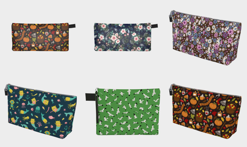 Zip Pouches preview