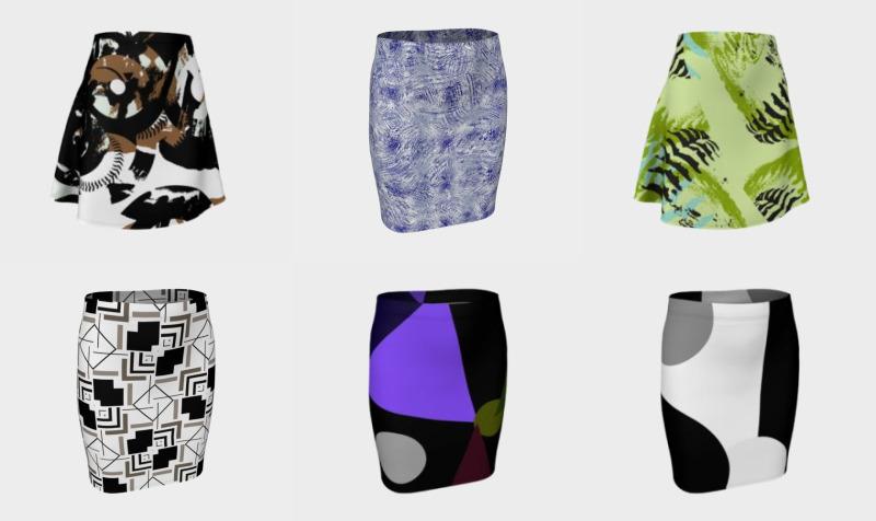 RazRad Skirts preview
