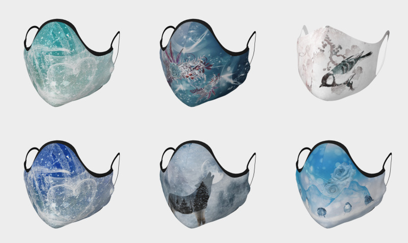 Winter Masks preview