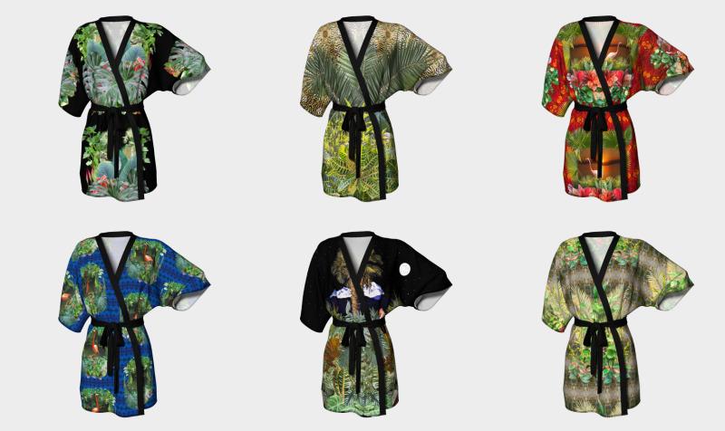 aviana kimono preview