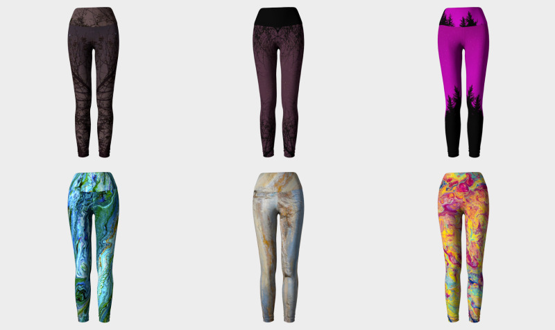 Leggings with YOGA waist preview
