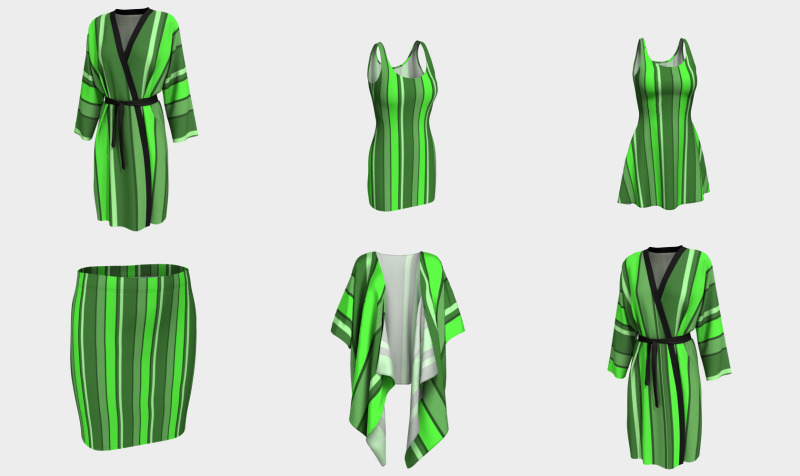 Stripes Forest Green 2019 112020 preview