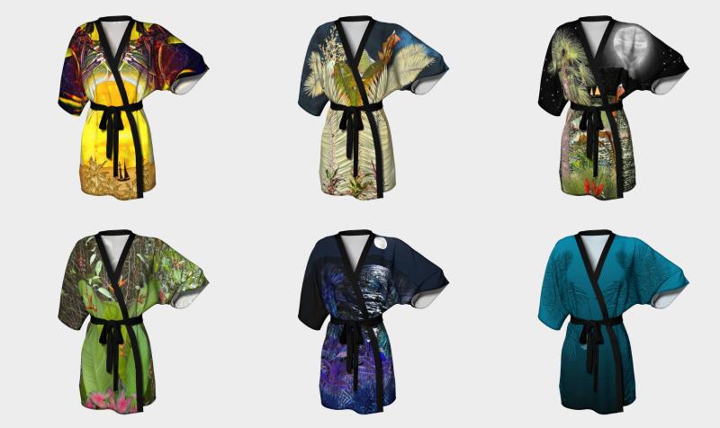 tropicale kimono preview