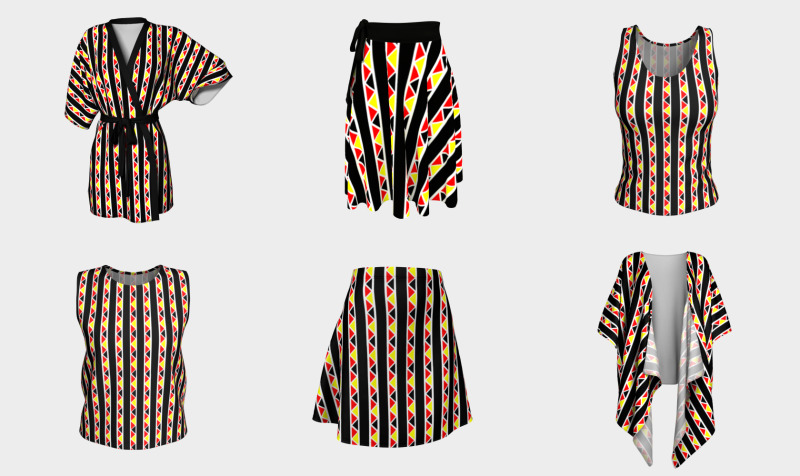 Kente Stripes Collection preview