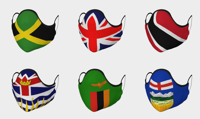World Flags Face Coverings  preview