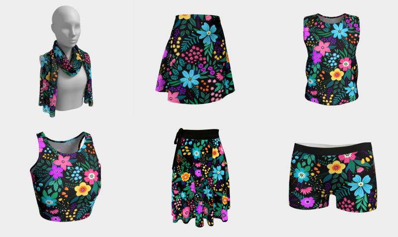 Aperçu de Summer Blooms - Warmer Days Collection